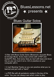 Easy Blues Solos Ebook Cover