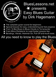 Easy Blues Guitar Ebook Cover