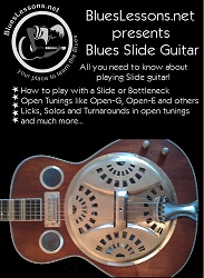 Blues Slide Guitar Ebook Cover